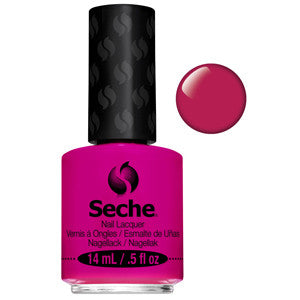 Rendezvous Seche One Coat Bright Fuchsia Nail Varnish