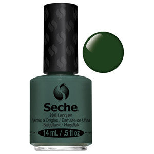 Versatile Seche One Coat Dark Green Nail Varnish