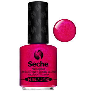 Indulgent Seche One Coat Bright Pink Nail Varnish