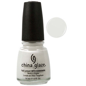 White on White China Glaze White Nail Varnish