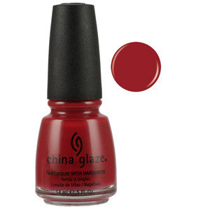 Salsa China Glaze Red Nail Varnish