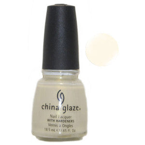Just Lovely China Glaze White Gold Shimmer Nail Varnish