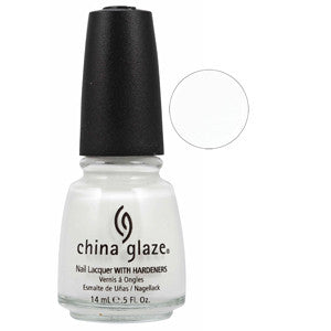 White Out China Glaze White Nail Varnish