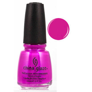 Purple Panic China Glaze Neon Purple Nail Varnish
