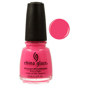Shocking Pink China Glaze Neon Pink Nail Varnish