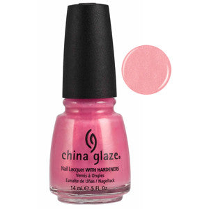 Pure Elegance China Glaze Pink Pearl Shimmer Nail Varnish