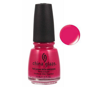 Mediterranean Charm China Glaze Red Orange Nail Varnish