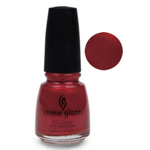 I Love Hue China Glaze Rusty Red Shimmer Nail Varnish
