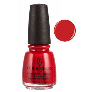 Vermillion China Glaze Red Nail Varnish