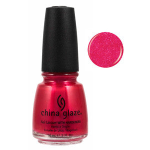 Sangria China Glaze Pink Glitter Nail Varnish