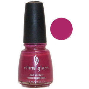 Verano China Glaze Pink Shimmer Nail Varnish