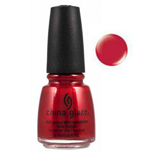Red Essence China Glaze Cherry Red Shimmer Nail Varnish