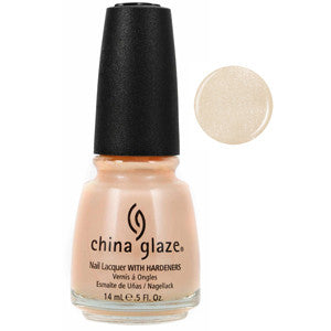 Heaven China Glaze Light Pink Nude Shimmer Nail Varnish