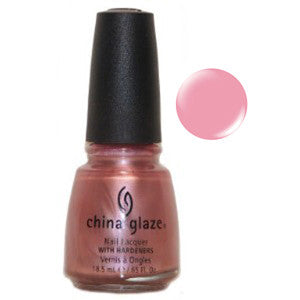 Pink Champagne China Glaze Brown Pink Shimmer Nail Varnish