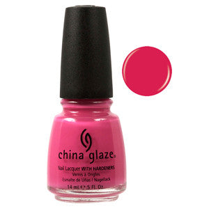 Rich & Famous China Glaze Pink Nail Varnish