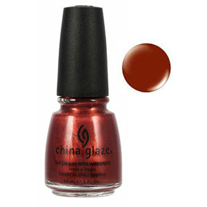 Hippie Chic China Glaze Rusty Brown Shimmer Nail Varnish