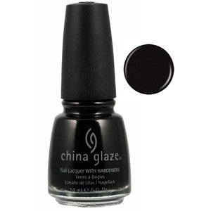 Liquid Leather China Glaze Black Nail Varnish