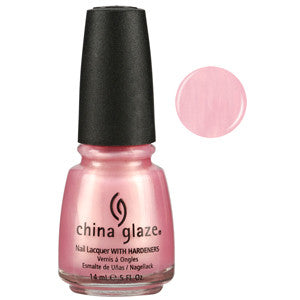 Exceptionally Gifted China Glaze Pink Shimmer Nail Varnish