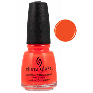 Orange Knockout China Glaze Neon Orange Nail Varnish