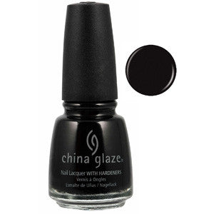Liquid Leather Mini China Glaze Black Nail Varnish