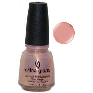Cheek to Cheek China Glaze Pink Pearl Shimmer Nail Varnish
