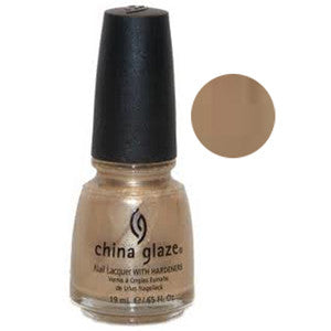 Gilded Treasurers China Glaze Gold Shimmer Nail Varnish