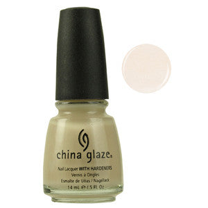 Aniv I China Glaze Light Nude Creme Nail Varnish