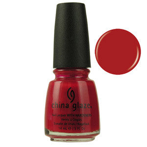 China Rounge China Glaze Red Nail Varnish