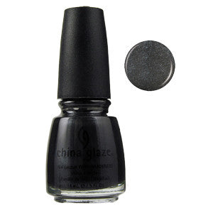 Black Diamond China Glaze Black Shimmer Nail Varnish