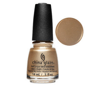High Standards China Glaze Gold Chrome Nail Varnish