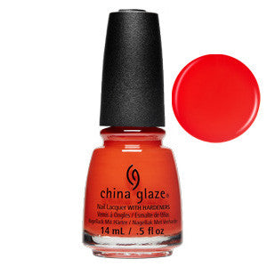 Sunset Seeker China Glaze Orange Matte Nail Varnish