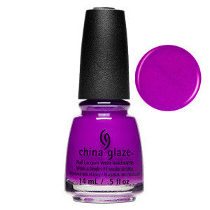 Summer Reign China Glaze Purple Shimmer Nail Varnish