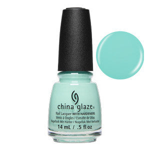 All Glammed Up China Glaze Mint Nail Varnish