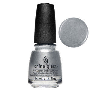 Chroma Cool China Glaze Silver Chrome Nail Varnish
