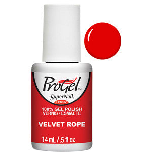Velvet Rope bright Red ProGel UV LED Gel Polish 14ml