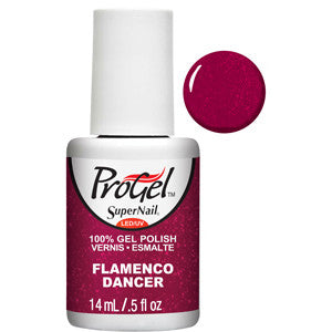 Flamenco Dancer Red Shimmer ProGel UV LED Gel Polish 14ml