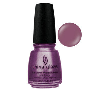 Joy China Glaze Plum Metallic Nail Varnish