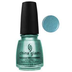 Adore China Glaze Metallic Blue Teal Nail Varnish