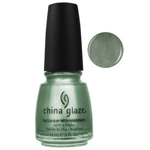 Cherish China Glaze Olive Shimmer Nail Varnish