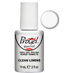 Clean Linens French White ProGel UV LED Gel Polish 14ml