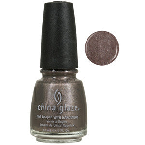 Cords China Glaze Mid Brown Shimmer Nail Varnish