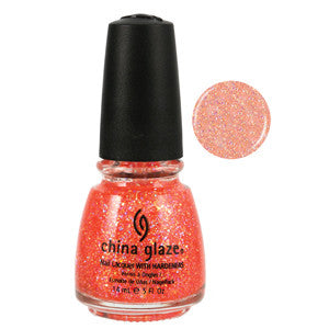 Mango Madness China Glaze Orange Glitter Nail Varnish