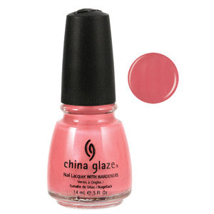 Strawberry Smoothie China Glaze Dusty Pink Nail Varnish