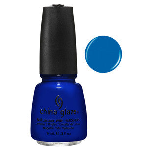 Ride the Waves China Glaze Neon Blue Nail Varnish