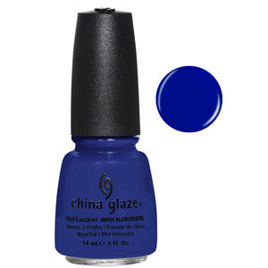 Manhunt China Glaze Blue Nail Varnish