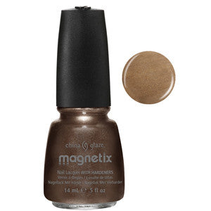 You Move Me Magnetix China Glaze Brown Nail Varnish