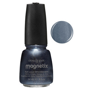 Pull Me Close Magnetix China Glaze Grey Nail Varnish