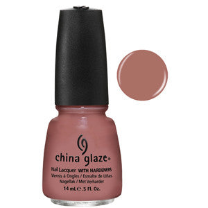 Dress Me Up China Glaze Mauve Brown Nail Varnish