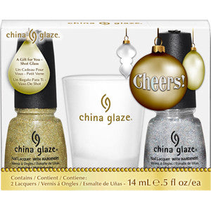 Cheers China Glaze Nail Varnish Pack