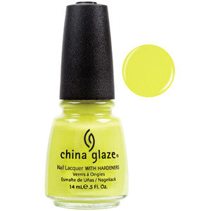 Electric Pineapple China Glaze Yellow Nail Varnish
